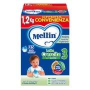 Latte Crescita Mellin Latte Crescita 3 in polvere Confezione con 3 buste da 400 g ℮ su My Mellin Shop