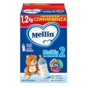 Latte di Proseguimento Latte Mellin 2 in polvere Confezione con 3 buste da 400 g ℮ su My Mellin Shop