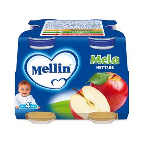 Nettari Mela Confezione da 500 ml ℮ (4 bottiglie x 125 ml) su My Mellin Shop