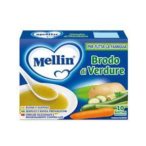 Brodi Brodo di verdure Confezione da 80 g ℮ (10 bustine x 8 g) su My Mellin Shop