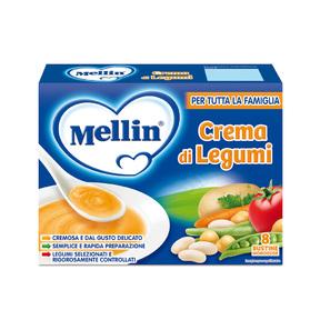 Brodi Crema di legumi Confezione da 104 g ℮ (8 bustine x 13 g) su My Mellin Shop
