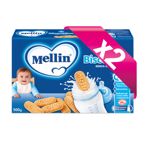Biscotti Kit risparmio 2x Biscottino Senza Glutine  KIT_2X_Confezione 500 g ℮ (2 buste da 250 g) su My Mellin Shop