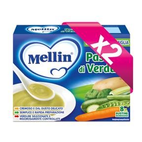 Brodi Kit risparmio 2x Passato di verdure KIT_2X_Confezione da 104 g ℮ (8 bustine x 13 g) su My Mellin Shop