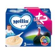 Omogeneizzati Liofilizzati Kit risparmio 2x Lio Mellin Tacchino KIT_2X_Confezione da 30 g ℮ (3 vasetti x 10 g) su My Mellin Shop
