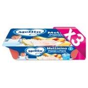 Mellinino Kit risparmio 3x Mellinino Pesca e Pera KIT_3X_Confezione da 360 g ℮ (6 vasetti x 60 g) su My Mellin Shop