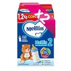Latte di Proseguimento Kit risparmio 2x Latte Mellin 2 in polvere KIT_2X_Confezione con 3 buste da 400 g ℮ su My Mellin Shop