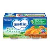 Omogeneizzati Frutta Mela Albicocca Confezione da 200 g ℮ (2 vasetti x 100 g) su My Mellin Shop