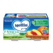 Omogeneizzati Frutta Pesca con Mela Confezione da 200 g ℮ (2 vasetti x 100 g) su My Mellin Shop