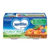 Omogeneizzati Frutta Frutta Mista Confezione da 200 g ℮ (2 vasetti x 100 g) su My Mellin Shop