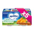 Omogeneizzati Frutta KIT 5x Mela Albicocca KIT 5x Confezione da 200 g ℮ (2 vasetti x 100 g) su My Mellin Shop