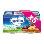 Omogeneizzati Frutta KIT 5x Prugna con Mela KIT 5x Confezione da 200 g ℮ (2 vasetti x 100 g) su My Mellin Shop