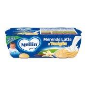 Merende Merenda Latte Vaniglia Confezione da 260 g ℮ (2 vasetti x 130 g) su My Mellin Shop