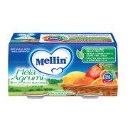 Omogeneizzati Frutta Mela Agrumi Confezione da 200 g ℮ (2 vasetti x 100 g) su My Mellin Shop
