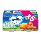 Omogeneizzati Frutta KIT 5x Mela Agrumi KIT 5x Confezione da 200 g ℮ (2 vasetti x 100 g) su My Mellin Shop