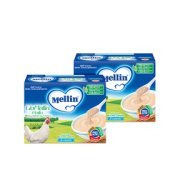 Omogeneizzati Liofilizzati Kit risparmio 2x Lio Mellin Pollo KIT_2X_Confezione da 30 g ℮ (3 vasetti x 10 g) su My Mellin Shop
