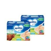 Omogeneizzati Liofilizzati Kit risparmio 2x Lio Mellin Manzo KIT_2X_Confezione da 30 g ℮ (3 vasetti x 10 g) su My Mellin Shop