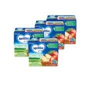 Frutta Pura Kit risparmio 4x Fruttapura Mela KIT_4X_Confezione da 400 g ℮ (4 vasetti x 100 g) su My Mellin Shop