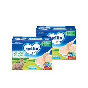 Omogeneizzati Liofilizzati Kit risparmio 2x Lio Mellin Coniglio KIT_2X_Confezione da 30 g ℮ (3 vasetti x 10 g) su My Mellin Shop