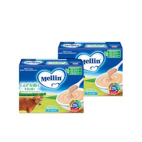 Omogeneizzati Liofilizzati Kit risparmio 2x Lio Mellin Vitello KIT_2X_Confezione da 30 g ℮ (3 vasetti x 10 g) su My Mellin Shop