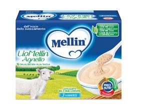 Omogeneizzati Liofilizzati Lio Mellin Agnello Confezione da 30 g ℮ (3 vasetti x 10 g) su My Mellin Shop