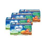 Omogeneizzati Frutta Kit risparmio 4x Mela Agrumi KIT 4x Confezione da 200 g ℮ (2 vasetti x 100 g) su My Mellin Shop