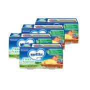 Omogeneizzati Frutta Kit risparmio 4x Mela Ananas KIT 4x Confezione da 200 g ℮ (2 vasetti x 100 g) su My Mellin Shop