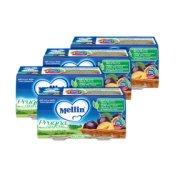 Omogeneizzati Frutta Kit risparmio 4x Prugna con Mela KIT 4x Confezione da 200 g ℮ (2 vasetti x 100 g) su My Mellin Shop