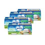 Omogeneizzati Formaggio Kit risparmio 4x Formaggino Ricottina con Verdure KIT_4X_Confezione da 2 vasetti da 80 g su My Mellin Shop