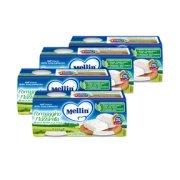 Omogeneizzati Formaggio Kit risparmio 4x Formaggino con Mozzarella KIT_4X_Confezione da 160 g ℮ (2 vasetti x 80 g) su My Mellin Shop