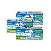 Omogeneizzati di Pesce Kit risparmio 3x Spigola KIT_3X_Confezione da 160 g ℮ (2 vasetti x 80 g) su My Mellin Shop