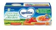 Primi Sughi Pomodoro e verdure Confezione da 160 g ℮ (2 vasetti x 80 g) su My Mellin Shop