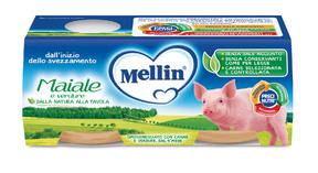 Omogeneizzati Carne Maiale con Verdure Confezione da 160 g ℮ (2 vasetti x 80 g) su My Mellin Shop