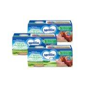 Omogeneizzati Carne Kit risparmio 3x Manzo Prosciutto* con Verdure KIT_3X_Confezione da 160 g ℮ (2 vasetti x 80 g) su My Mellin Shop