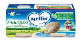 Omogeneizzati di Pesce Platessa Confezione da 160 g ℮ (2 vasetti x 80 g) su My Mellin Shop