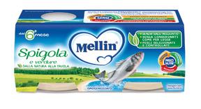 Omogeneizzati di Pesce Spigola Confezione da 160 g ℮ (2 vasetti x 80 g) su My Mellin Shop
