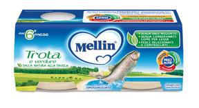 Omogeneizzati di Pesce Trota Confezione da 160 g ℮ (2 vasetti x 80 g) su My Mellin Shop