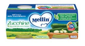 Omogeneizzati Verdure Zucchine Confezione da 160 g ℮ (2 vasetti x 80 g) su My Mellin Shop