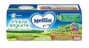Omogeneizzati Verdure Primi Legumi Confezione da 160 g ℮ (2 vasetti x 80 g) su My Mellin Shop