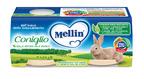Coniglio Confezione da 160 g ℮ (2 vasetti x 80 g) su My Mellin Shop