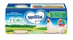 Omogeneizzati Carne Pollo Confezione da 160 g ℮ (2 vasetti x 80 g) su My Mellin Shop