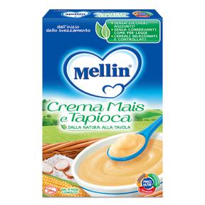 Creme di Cereali Crema mais e tapioca Confezione da 250 g ℮ su My Mellin Shop