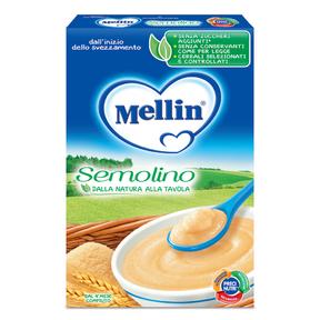 Creme di Cereali Semolino Confezione da 250 g ℮ su My Mellin Shop