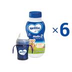 Latte di Proseguimento 1 Kit risparmio 6x Latte Mellin 2 Liquido e 1 Baby Tazza KIT_6X_Bottiglia da 500 ml ℮ su My Mellin Shop