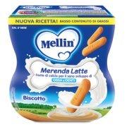 Merende Merenda Latte e Biscotto Confezione da 200 g ℮ (2 vasetti x 100 g) su My Mellin Shop
