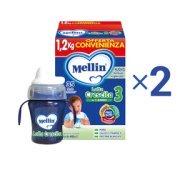 Latte Crescita Kit risparmio 2x Mellin Latte Crescita 3 in polvere e 1 Baby Tazza Kit risparmio 2x Mellin Latte Crescita 3 in polvere e 1 Baby Tazza su My Mellin Shop