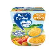 Primi Dentini Frutta Primi Dentini Frutta Mista Confezione da 200 g ℮ (2 vasetti x 100 g) su My Mellin Shop