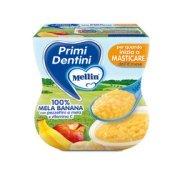 Primi Dentini Frutta Primi Dentini Mela-Banana Confezione da 200 g ℮ (2 vasetti x 100 g) su My Mellin Shop