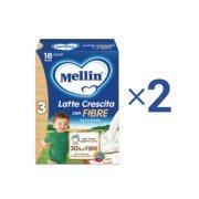 Latte Crescita 2X Latte Crescita 3 con Fibre 2X Latte Crescita Fibre su My Mellin Shop
