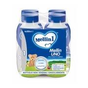 Latte di partenza Latte Mellin 1 Liquido 4 bottiglie da 500 ml ℮ su My Mellin Shop