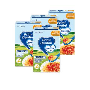 Pasta Junior Kit risparmio 4x Pennette KIT_4X_Confezione da 280 g ℮ su My Mellin Shop